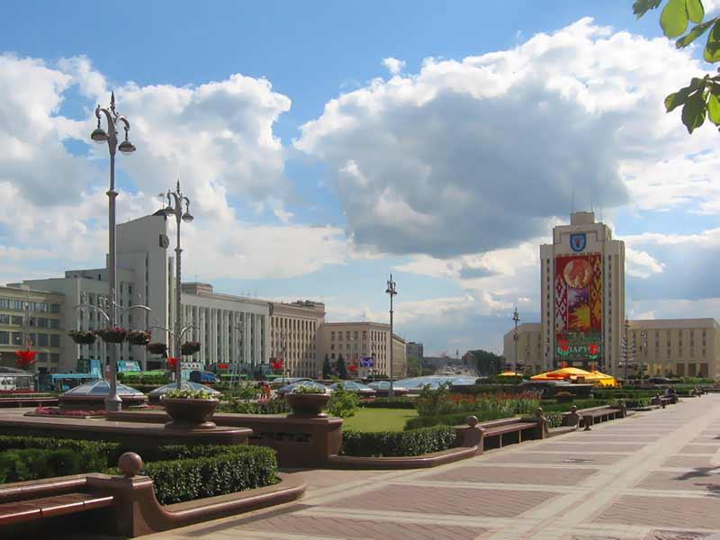 Карта Минска Улица Лопатина
