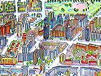 Карта Минска. Кукурузная улица