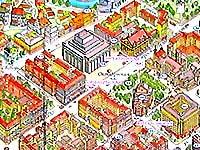 Карта Минска. Октябрьская площадь