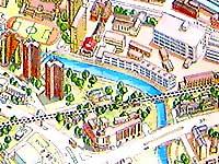 Карта Минска.