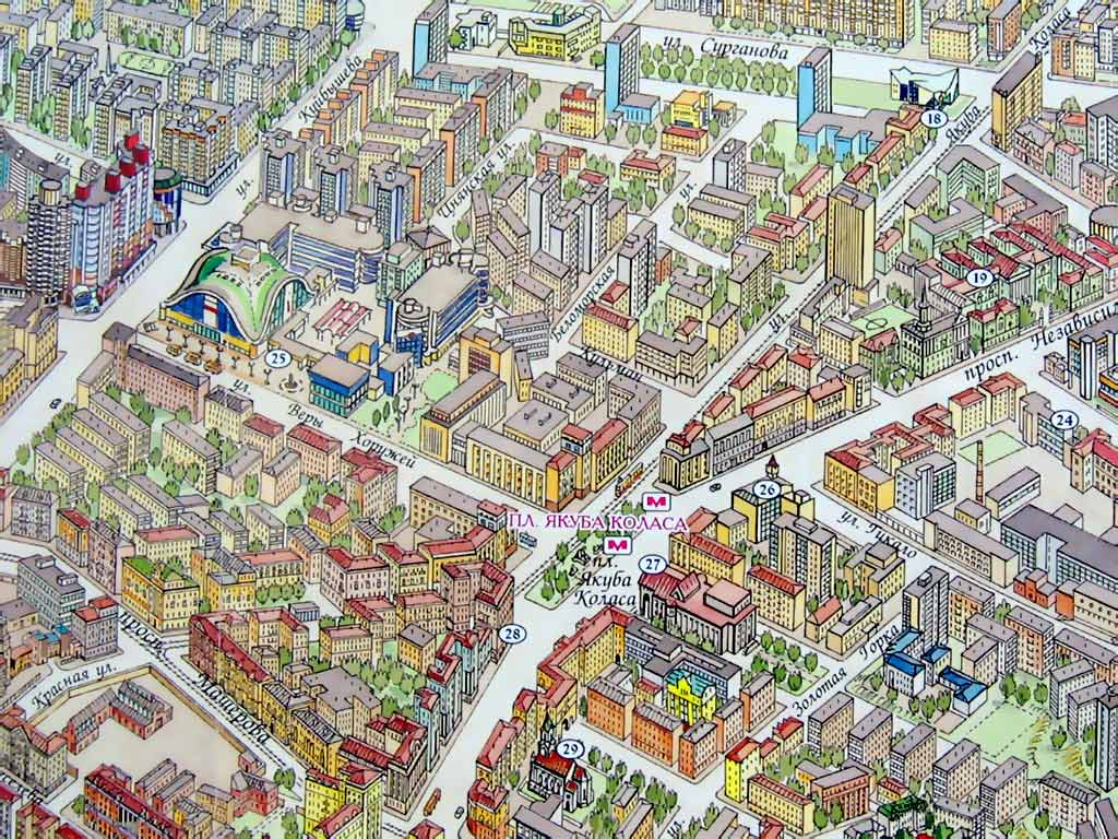 Комаровский рынок на карте. Картинка. Фотография