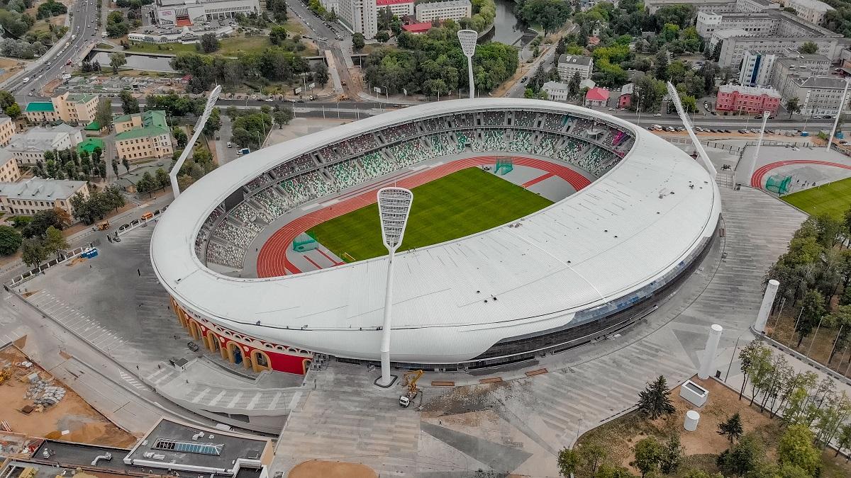 Схема стадиона динамо минск фото 583