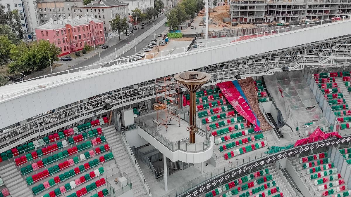 Схема стадиона динамо минск фото 604